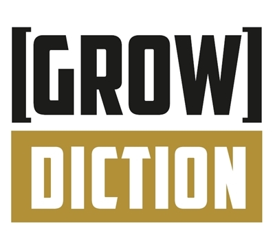 Growdiction Logo, 400x364